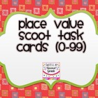 Place Value Scoot Task Cards (0-99)