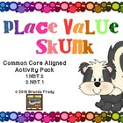 Place Value Skunk -Game & Poster Pack