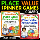 Place Value Spinner Games