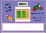 Place Value Stop, Think, Click (SmartBoard Lesson)