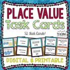 Place Value Task Cards Common Core Aligned