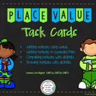 Place Value Task Cards (Math Workshop)