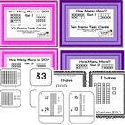 Place Value Task Cards Mega Pack 7 Sets of Place Value Centers