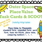 Place Value Task Cards & SCOOT Common Core (Grades 2, 3, & 4)