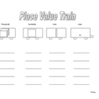Place Value Train