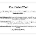 Place Value War - Common Core