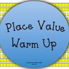 Place Value Warm-Up Slide Show