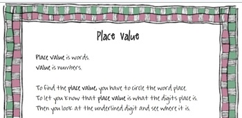 Place Value and Value