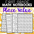 Place Value printables for K-2 Math Journals