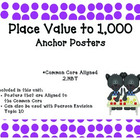 Place Value to 1,000 Posters *Common Core Aligned*