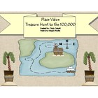 Place Value to the Millions - Treasure Hunt