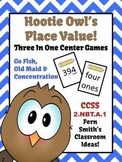 Place Value with Hootie Owl Concentration, Go Fish & Old M