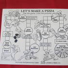 Placemat Game - Let's Make a Pizza