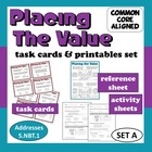 Placing the Value - task cards + printables set – Common C