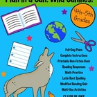 Plan in a Can: Full Day Emergency Sub Plans: Wild Canine T