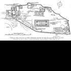 Plan of ancient Athens' Acropolis