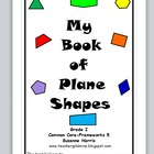 Plane Figures shapes Common Core with Angles, Sides, and Vertices