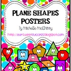 Plane Shapes Posters {Polka Dots}