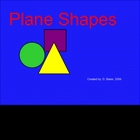 Plane Shapes Smartboard Lesson