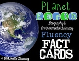 Fluency Task Cards {Planet Earth Facts}