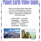 Planet Earth Video Questions