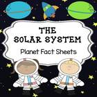 Planet Fact Sheets