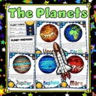 Planet Posters Display Set