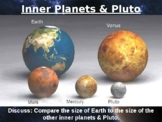 Planet Space Solar System Universe Size Comparison PowerPo
