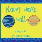 Planet Word Wall Alphabet Set
