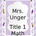 Planning Binder Cover and Title Pages