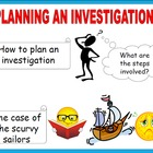 Planning an Investigation