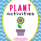 Plant Activities {K-2}