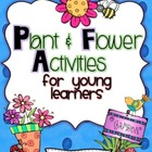Plant &amp; Flower Activities For Young Learners Mega Pack