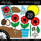 Plant Parts & Needs {Graphics for Commercial Use}