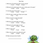 Plant Quiz