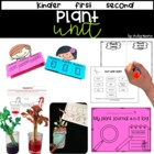 Plant Unit { Science, ELA, Math, Craftivity }
