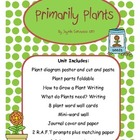 Plants: A Science Unit for Primary Students