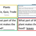 Plants Quiz, Quiz, Trade Game/Center