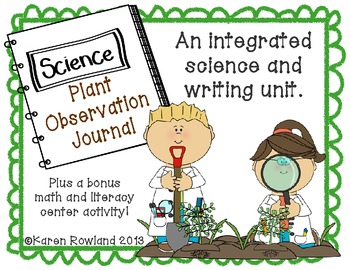 Plants Unit - Plant Parts and Sequencing - Plus 2 Bonus Ce
