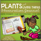 Plants and Living Things Observation Journal {& Vocab Cards}