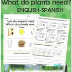 Plants experiment What do plants need?