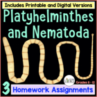 Platyhelminthes and Nematoda (flatworms and roundworms) St