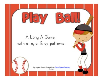 Play Ball - A Long A Game