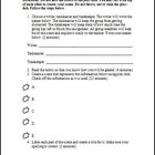 Play-Doh Activity Template and Rubric