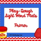 Play Dough Mats with Primer Sight Words