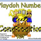Play-doh Number Construction Kit ~ Common Core