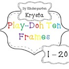 PlayDoh Math Mats 1 - 20 {with} Ten Frames