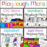 Playdough Learning Mats BUNDLE