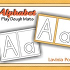 Playdough Mats - Alphabet
