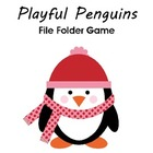 Playful Penguins File Folder Game